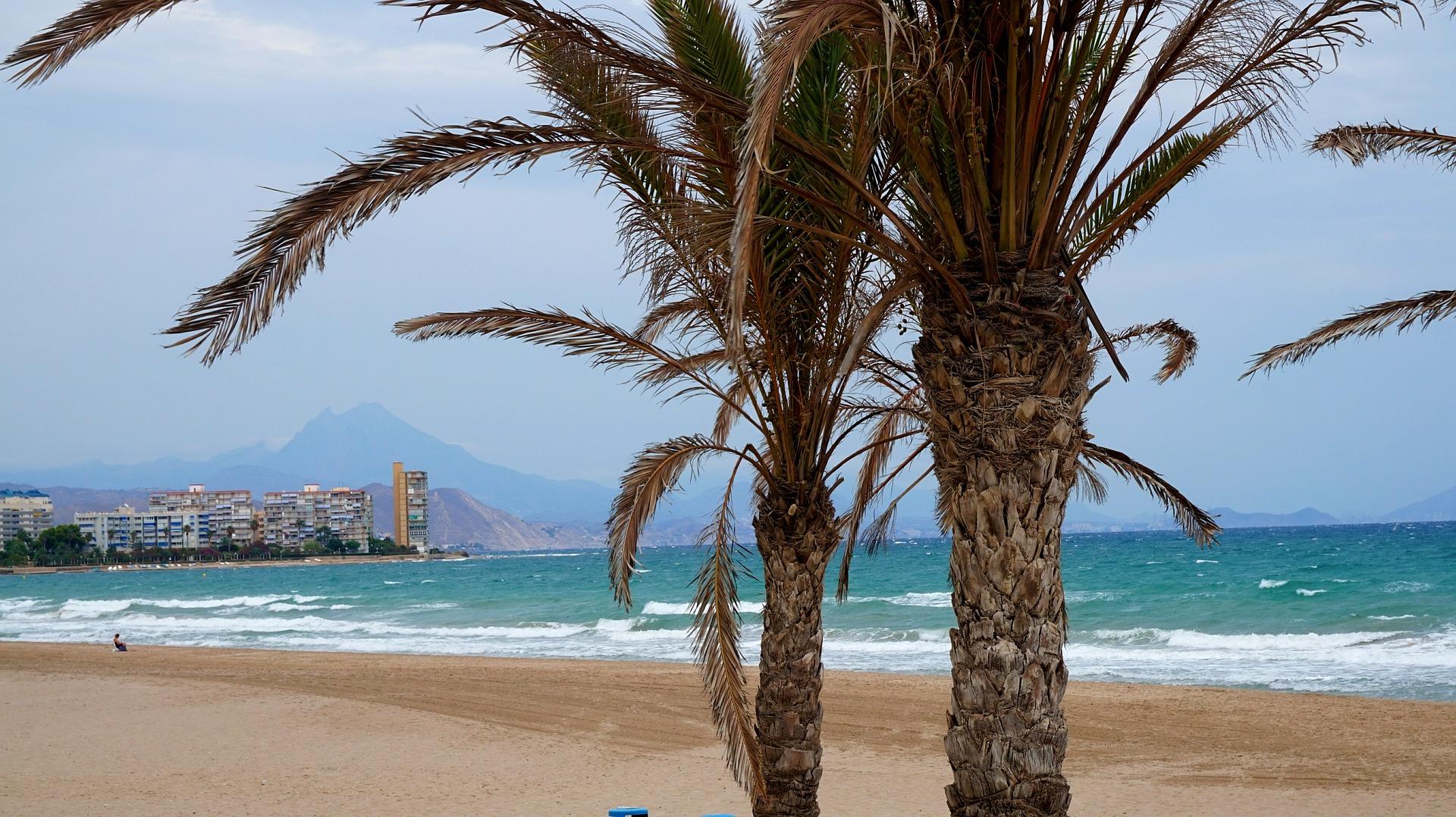 Alicante - der wärmste Ort im Winter in Europa