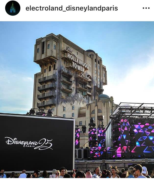 Am Hollywood Tower steht die Mainstage - Insider
