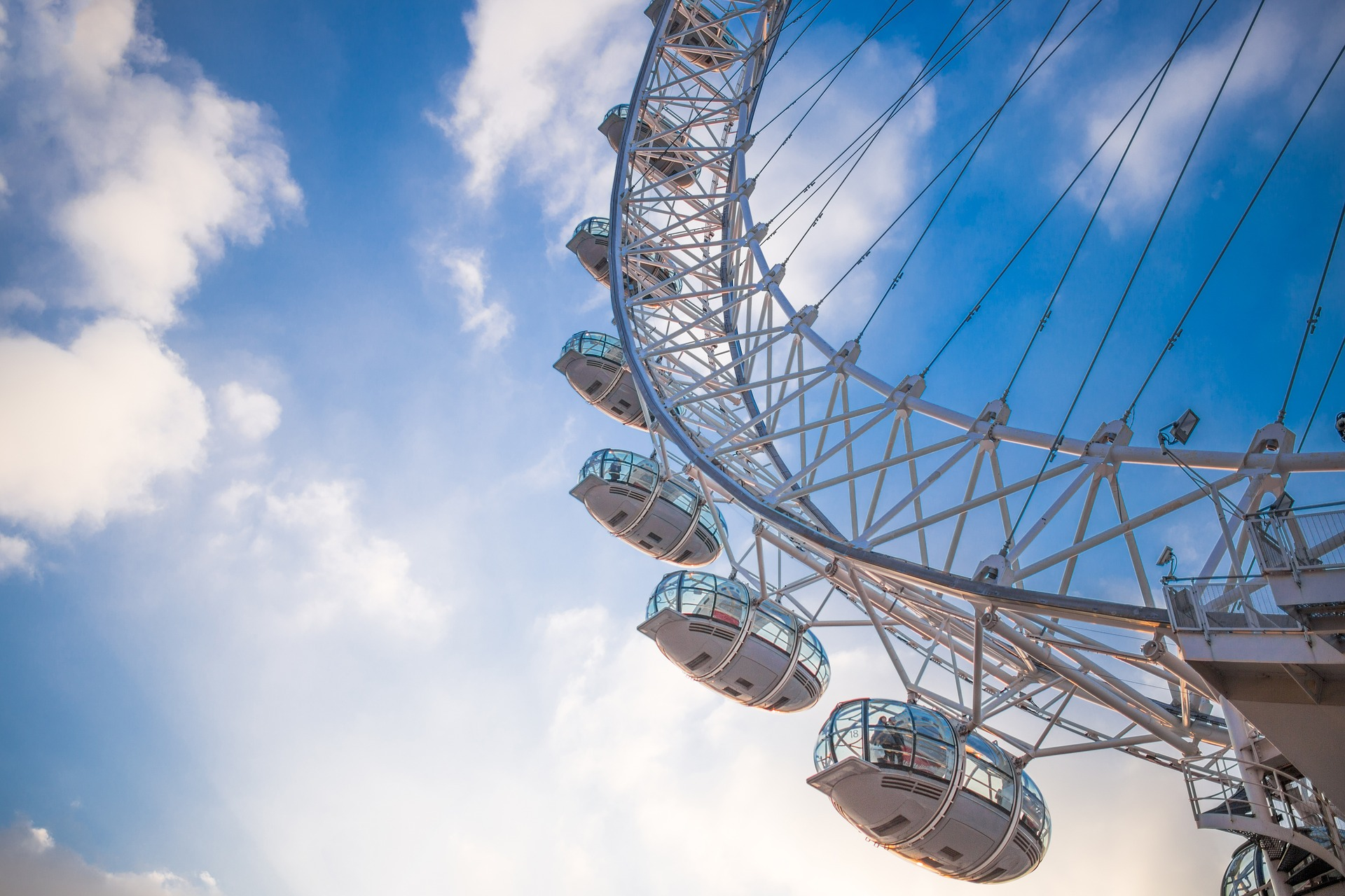 Auch Tickets für das neue The Coca Cola London Eye findet Ihr hier