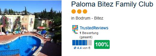 Beispiel Hotel 3 Sterne unter 300,00€ möglich