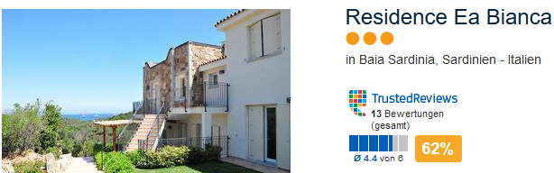 Beispiel Unterkunft Residence Ea Bianca
