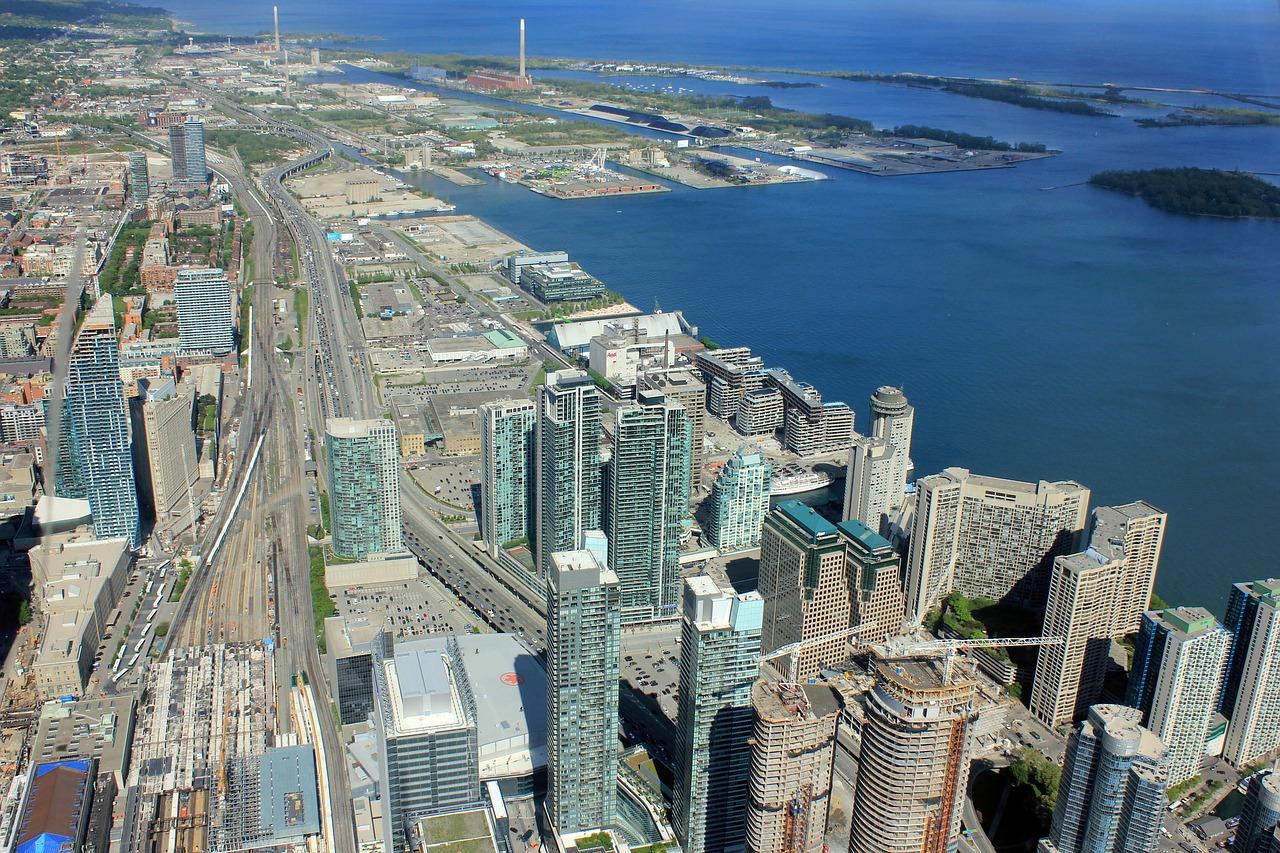 Blick vom höchsten Gebäude - Städtereise nach Toronto