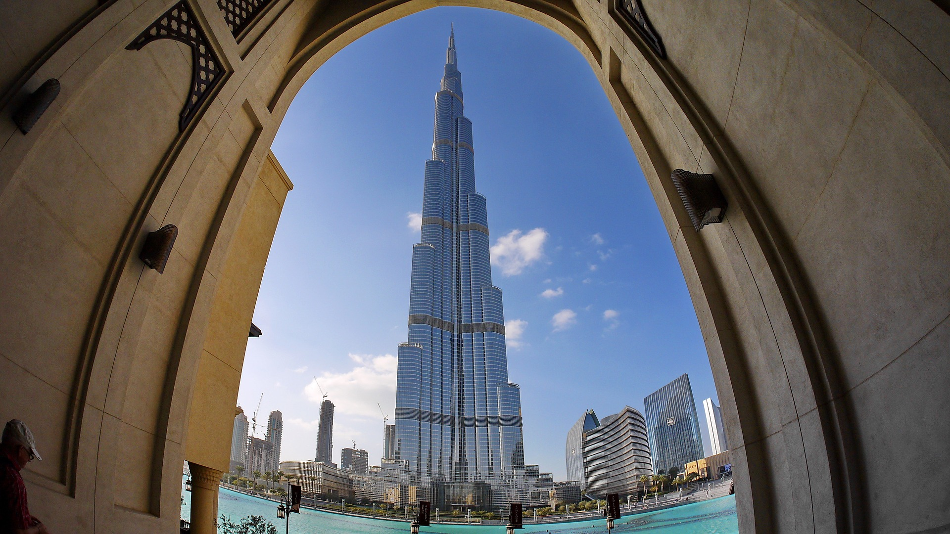 Burj Khalifa - das höchste Gebäude der Welt