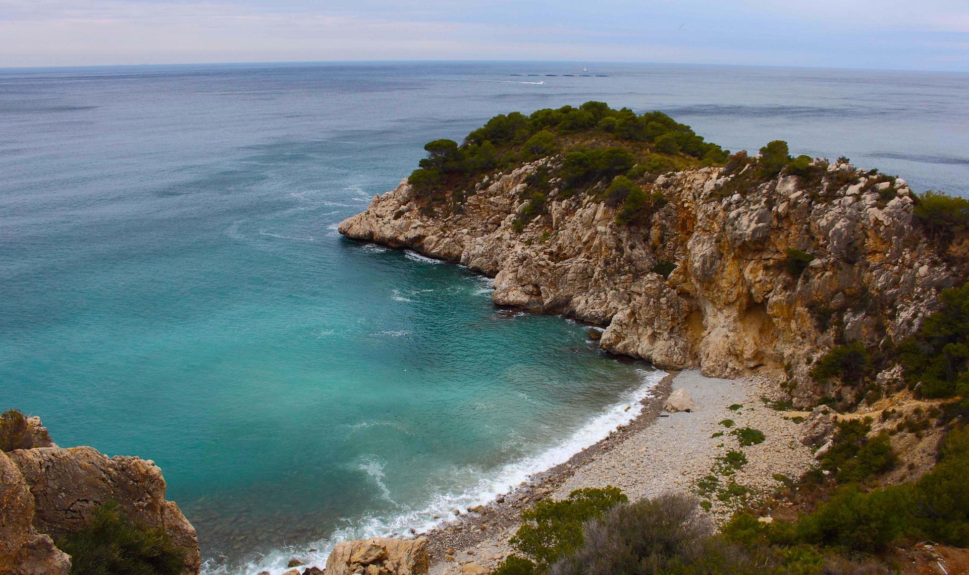 Costa Blanca die wundervolle Badebucht