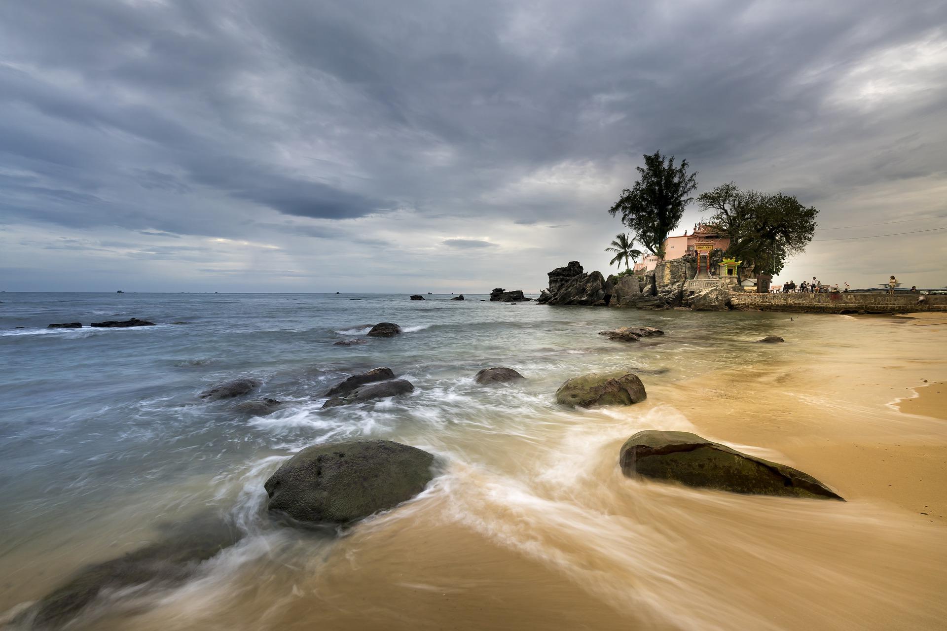 Der Strand bei Phu Quoc