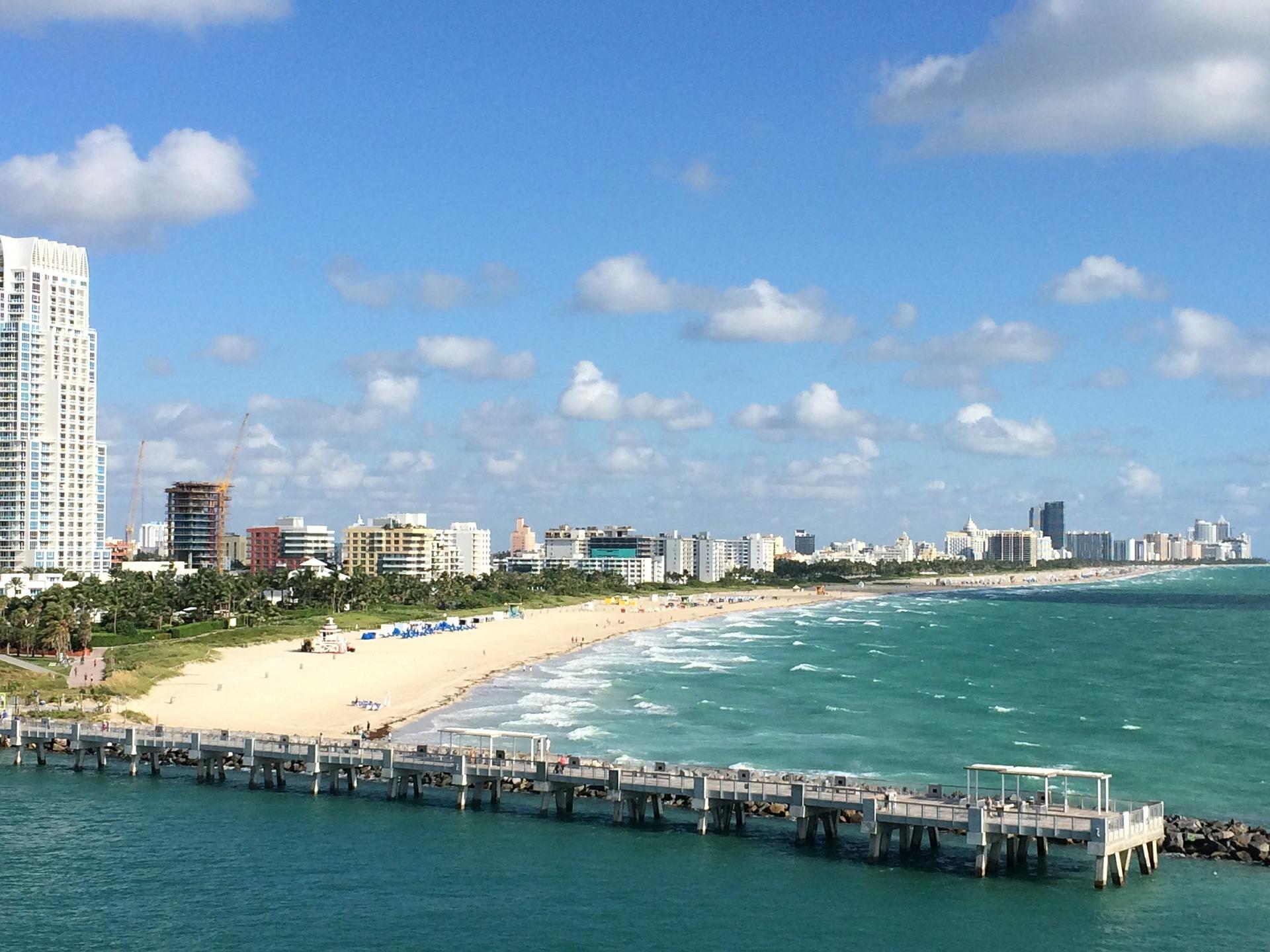 Der berühmte Miami Beach