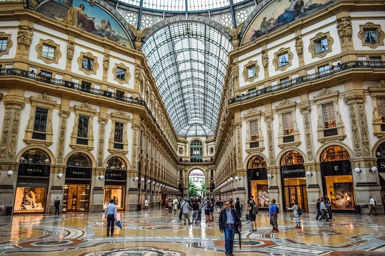 Die Luxus Gallerie Galleria Vittorio Emanuele