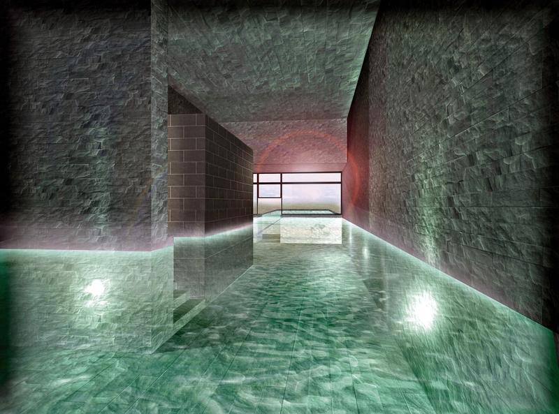 Eine große Poollandschaft Indoor und Outdoor wird im 4 Sterne Resort Angeboten