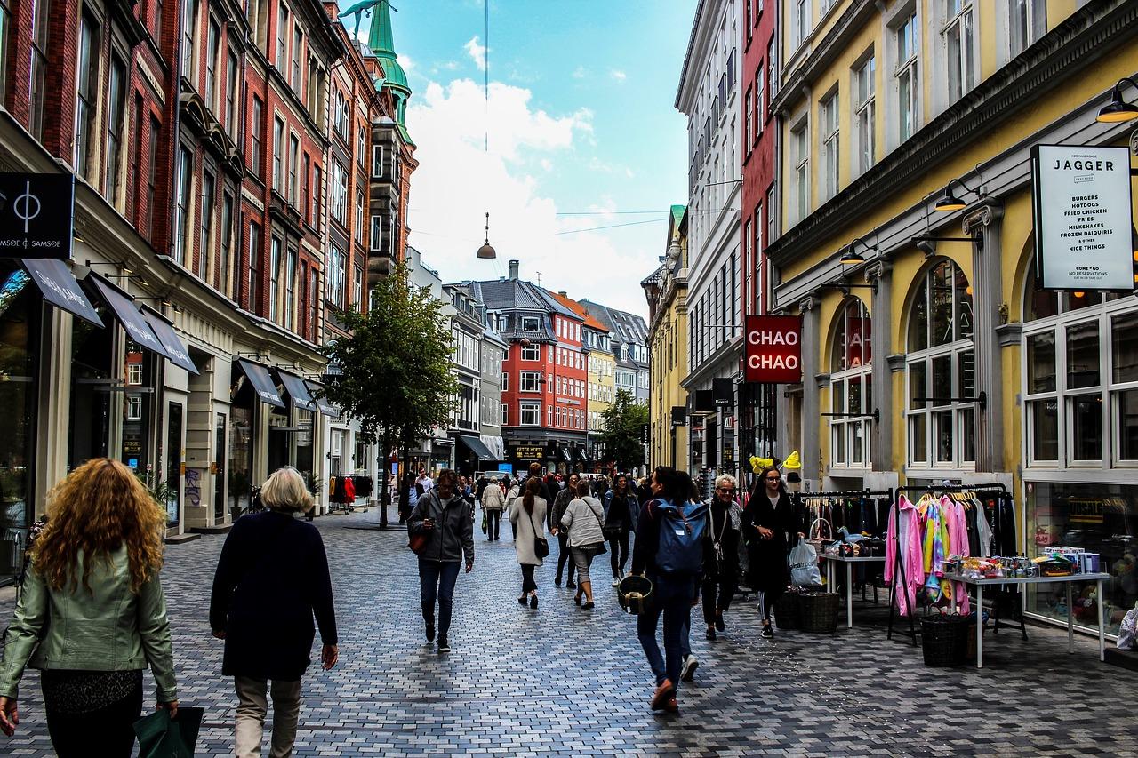 Einkaufspassage des Stadtkerns