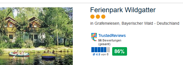Ferienpark Wildgatter 3 Sterne Hotel in Grafenwiesen