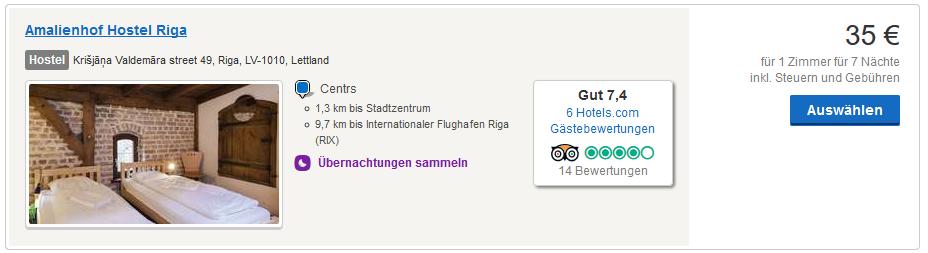 Hotel Deal in Riga - Screenshot