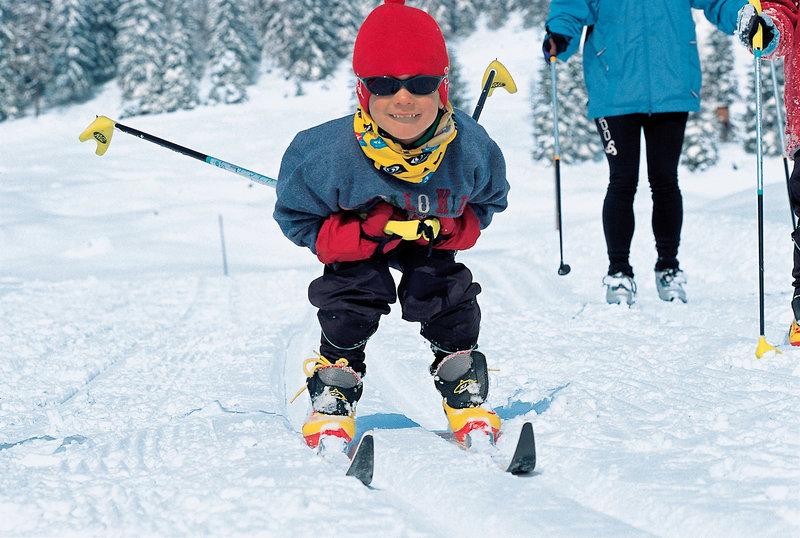 Im Winter kann man hier bestens Skifahren & hat direkte Anbindung zur Piste