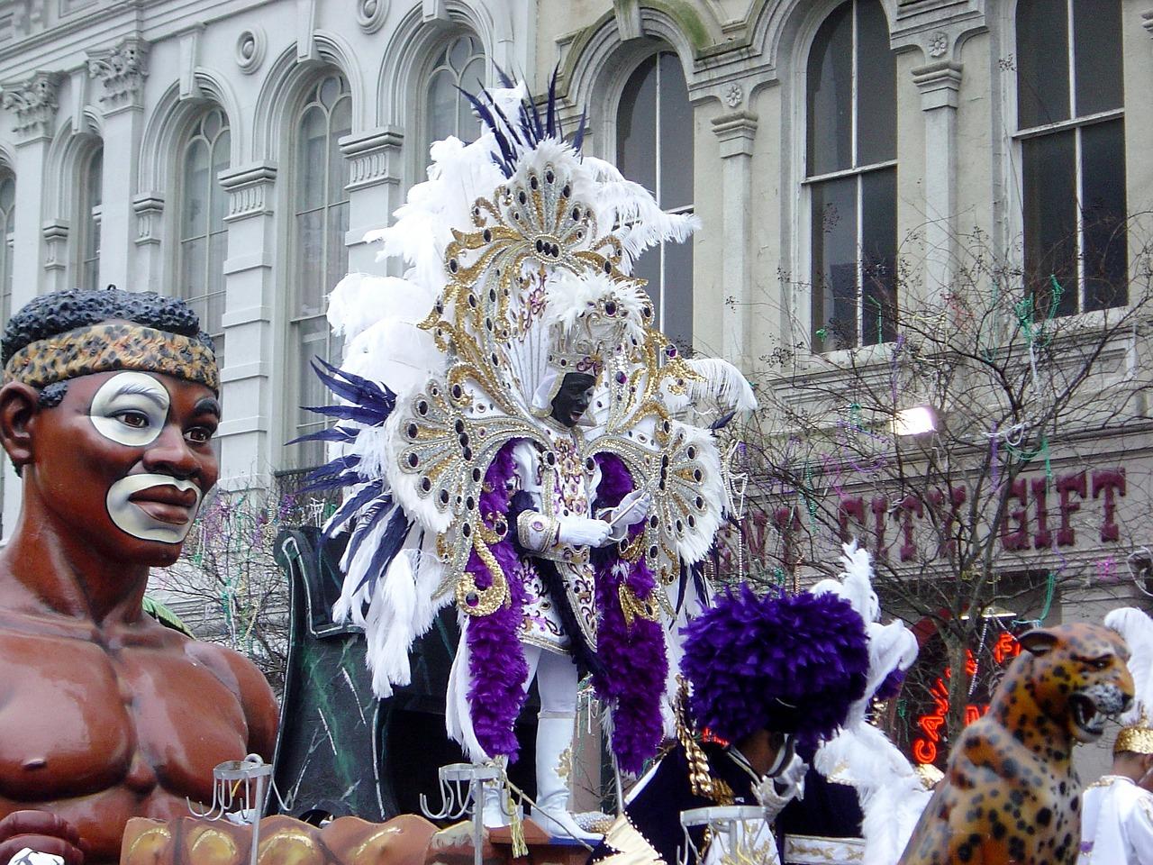 Mardi Gras - Umzug im Bundestaat Louisianna
