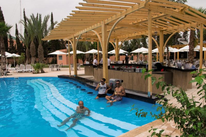Mein Favorit die Poolbar in Marrakesch bestem LABRANDA