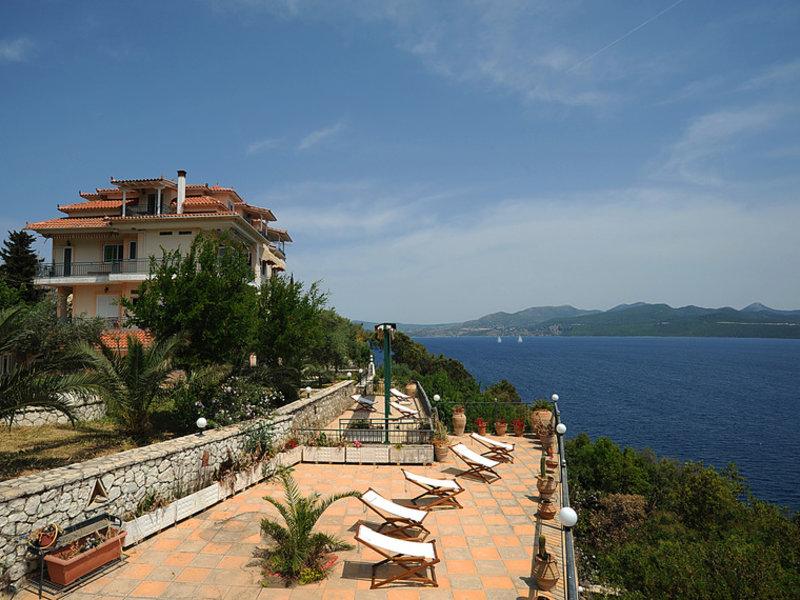 Nikiana auf der Insel das günstigste Hotel