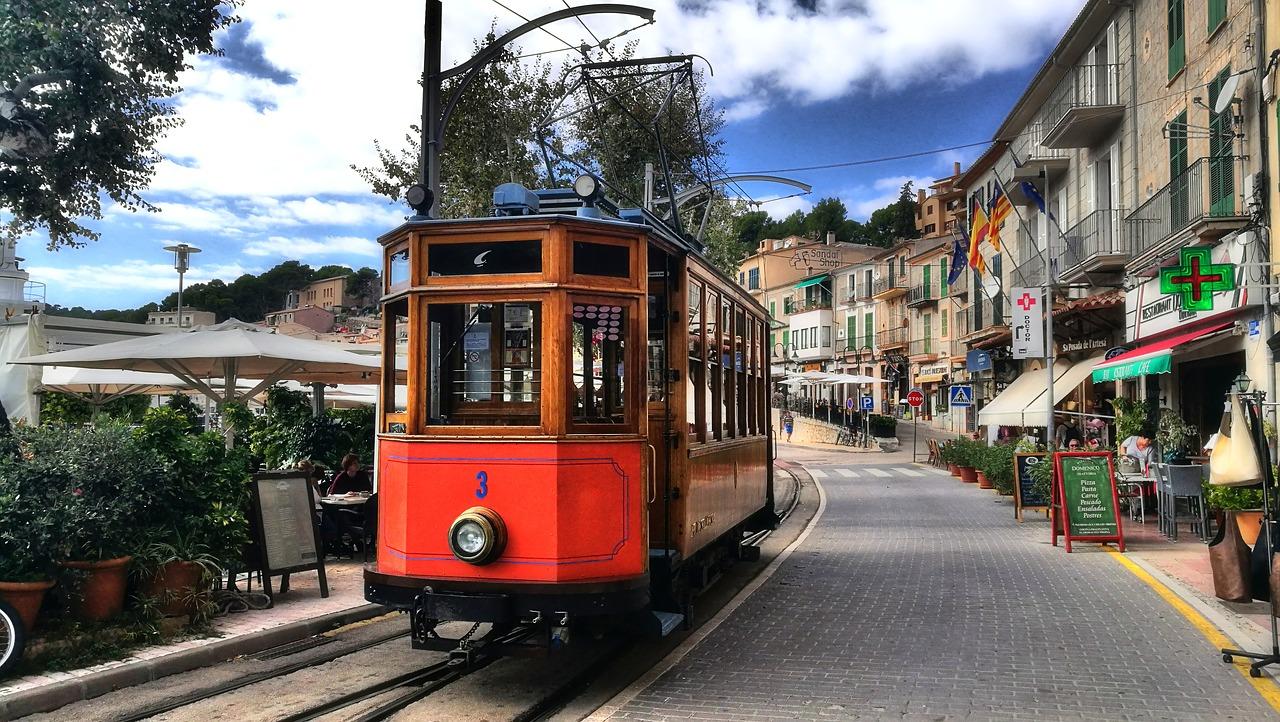 Port Soller - bist du schonmal mit der Straßenbahn auf der Insel gefahren