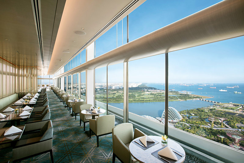 Restaurant im Marina Bay