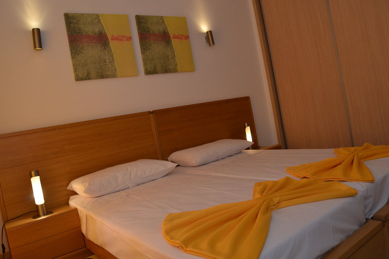 Schlafbereich im Hotel