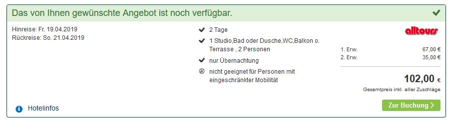Screenshot Deal Mountainbike Tour übers Wochenende ab 51,00€ Bayerischer Wald