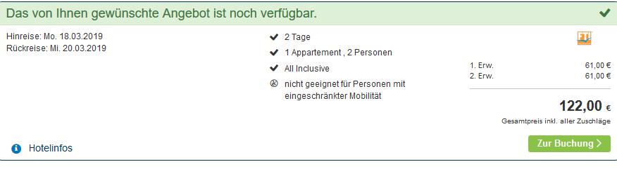 Screenshot Deal Reiterhof Runding All Inclusive Kurzurlaub ab 61,00€ Bayrischer Wald