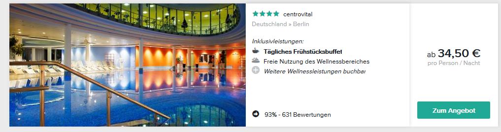 Screenshot Wellnessurlaub in Deutschland ab 34,50€ - Seele baumeln lassen