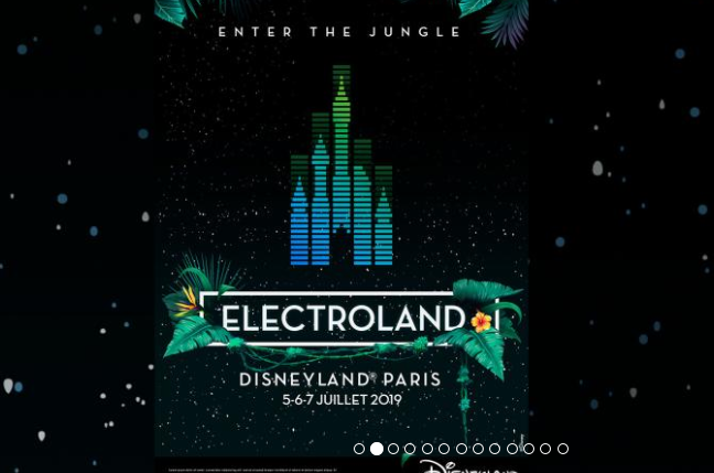 Screenshot zum Deal Festival im Disneyland Paris Electroland ab 199,00€ ! Sorglos Packet