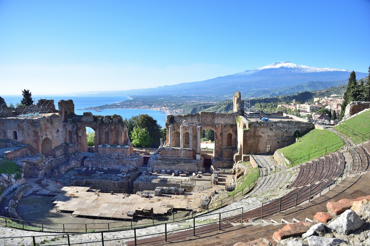 Sicilia zahlreiche überreste der Römer