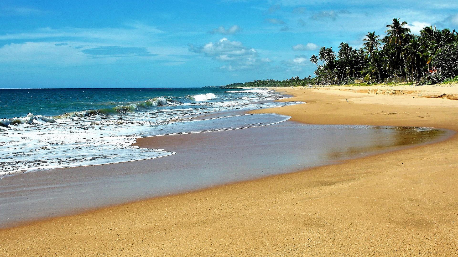 Sri Lanka drei Wochena am wilden Strand