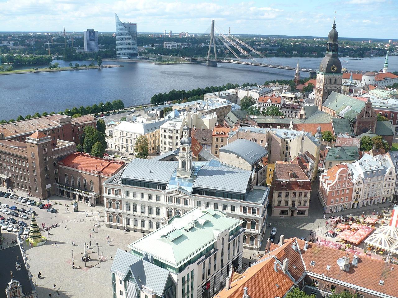 Stadtkern in Lettlands Hauptstadt - Städtereisen und Strandurlaub