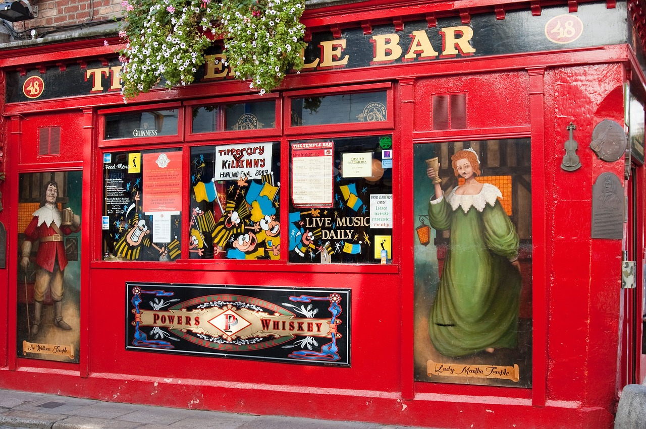 Tempel Bar - Entertainment in Dublin