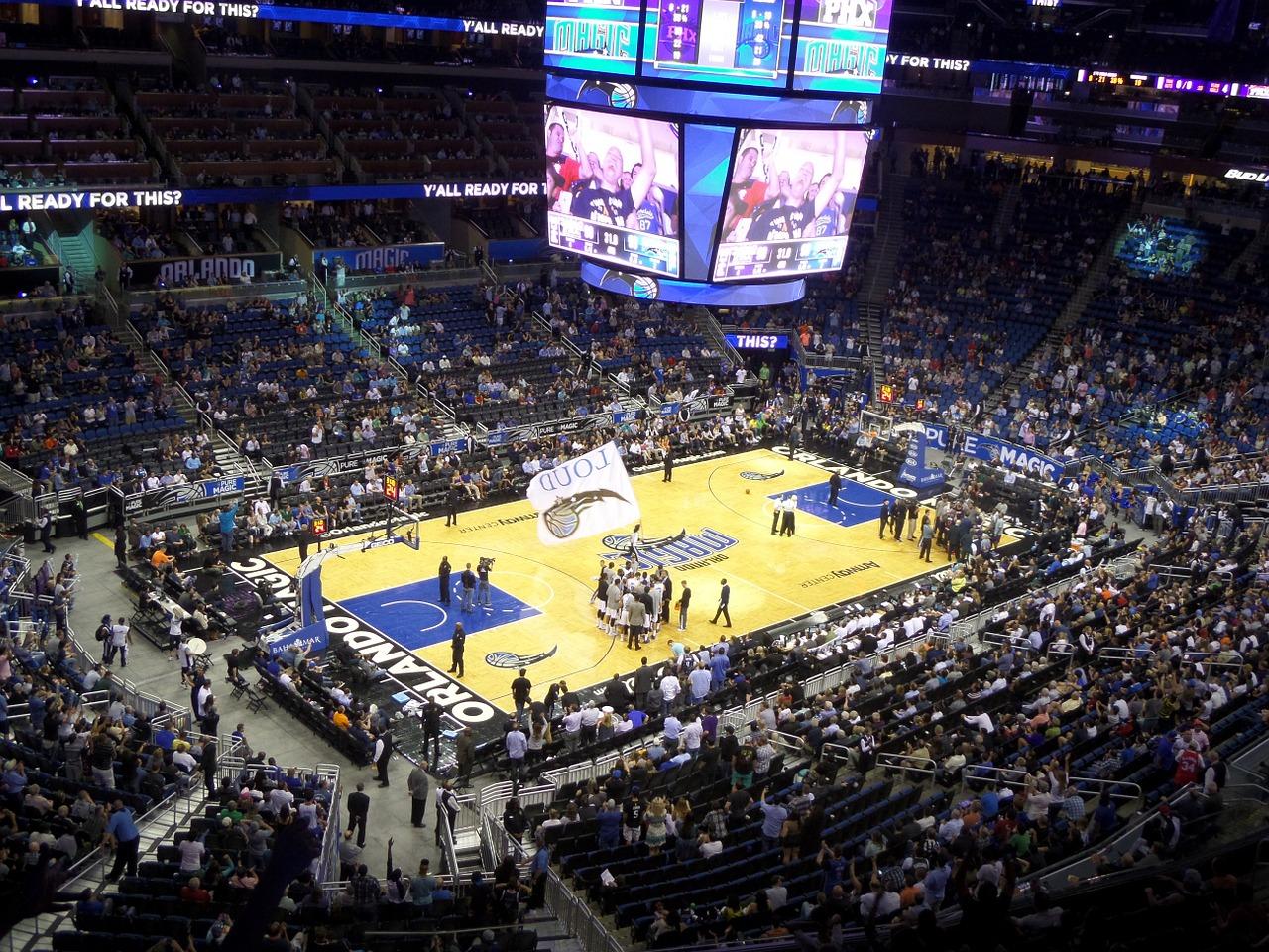 Unter meinen Florida Reisetipps die nummer eins - schaut euch ein Spiel der Orlando Magics Live an NBA