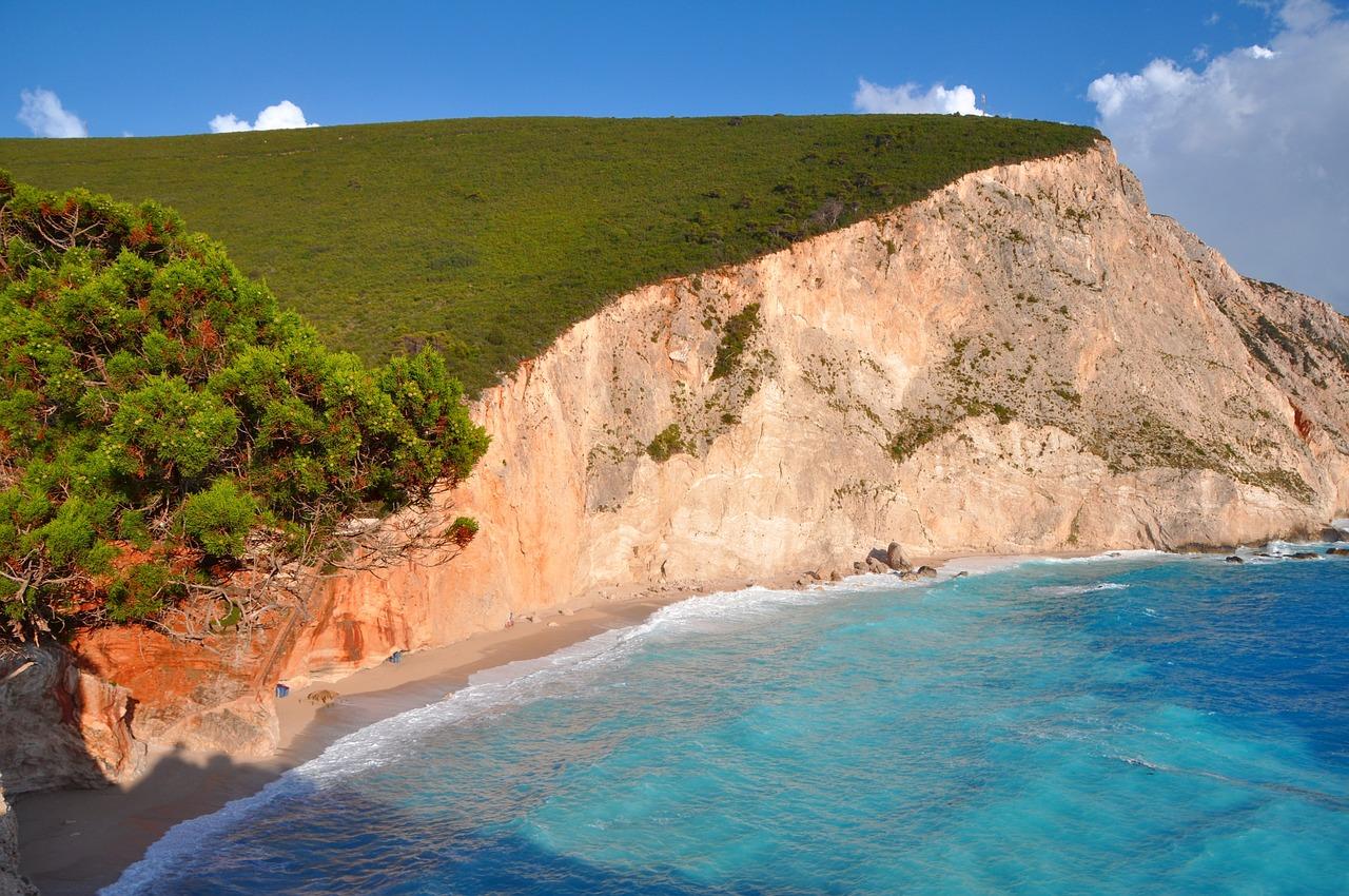 Urlaub auf der Insel Lefkas der grüne Zweig im Westen