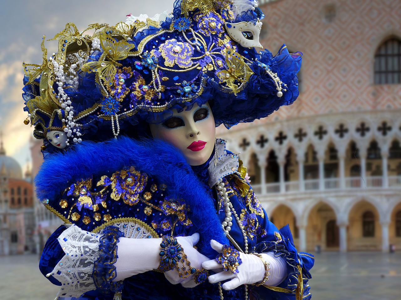 Venedig Karneval in Italien - ein muss für jeden der Fasching feiert !