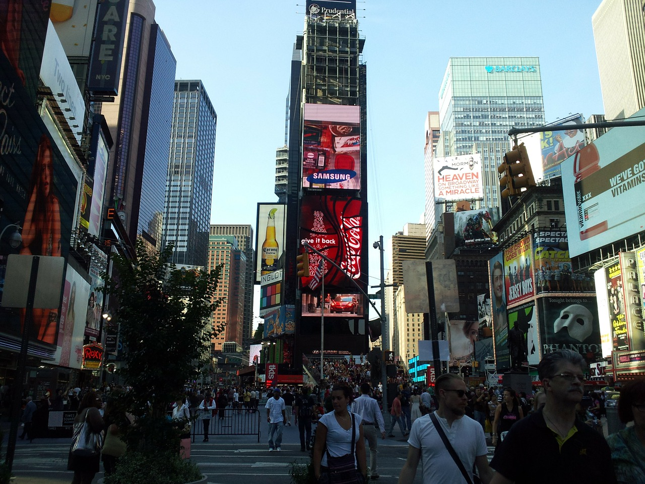 Warst du schonmal am Time Square