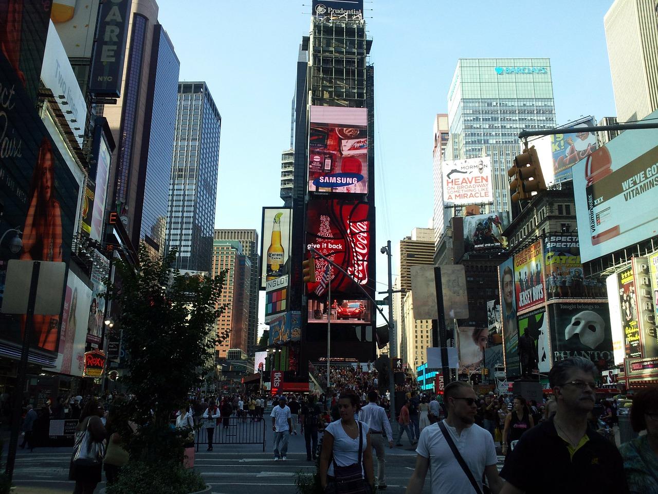 Warst du schonmal am Time Square
