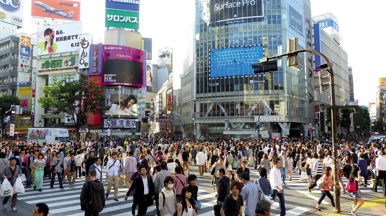 Wilkommen in der Metropole ! Kannst du dir deine Ferien in Japan vorstellen