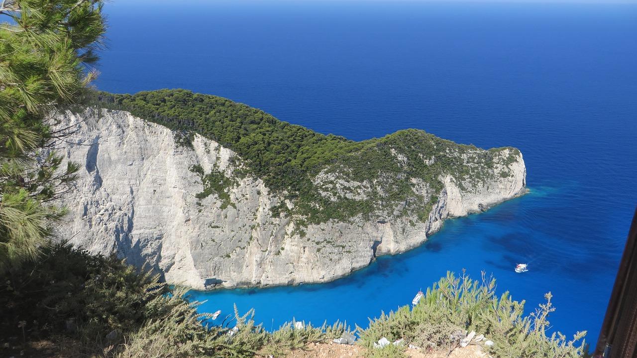 Insel in Griechenland zakynthos strände navagio