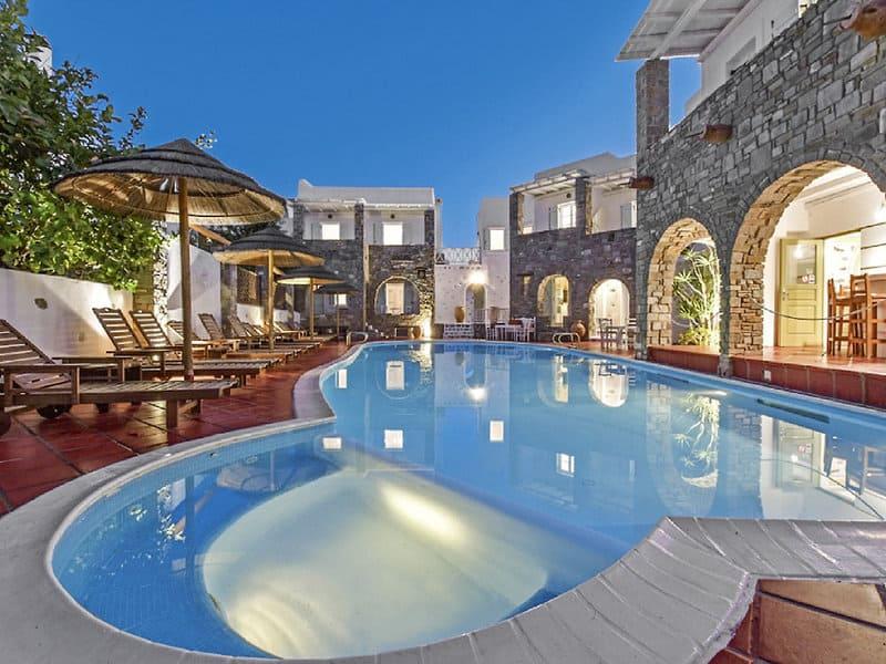 3,5 Sterne Anlage Zefi Hotel & Suites auf der Insel Paros