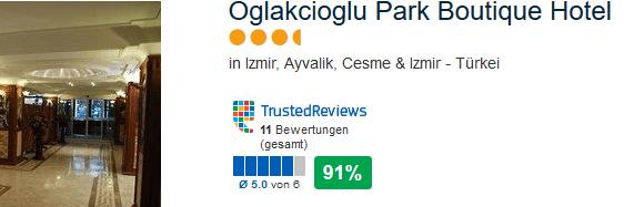3,5 Sterne Hotel Oglakcioglu Park Boutique Hotel