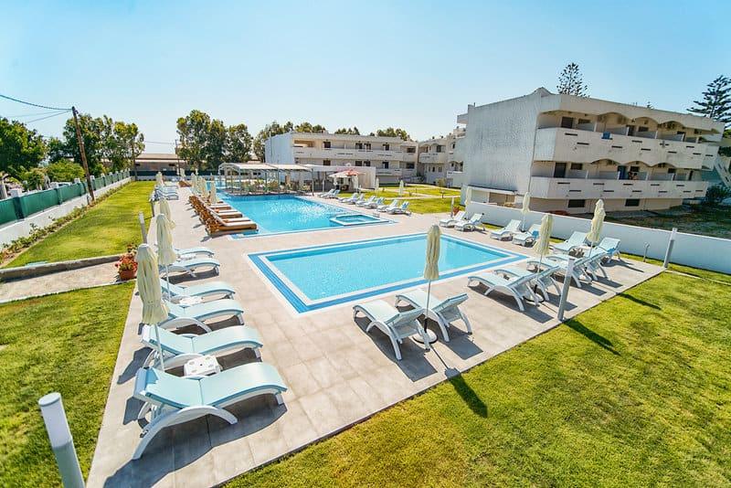 4 Sterne Kos eine Woche nur 249,00€ Pool vom Hotel Frosini