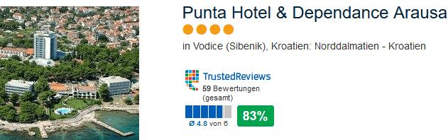 4 Sterne Punta Hotel & Dependance Arusa