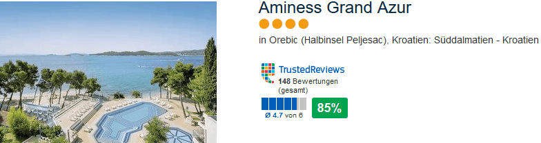 Aminess Grand Azur 4 Sterne