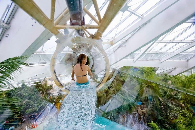 Aqua Mundo im Ferienpark in Belgien