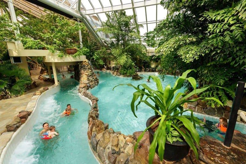 Aqua Mundo im Park Erperheide im Norden von Belgien