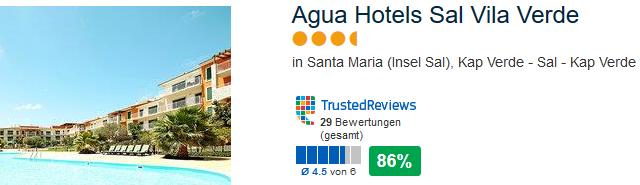 Beispiel Hotel mit 87% positiver Bewertung