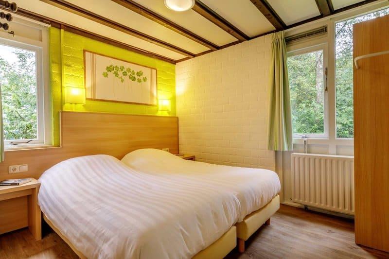 Beispiel Schlafzimmer im Ferienhaus in Holland