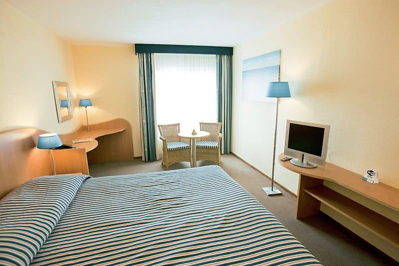 Beispiel Schlafzimmer in der Wohneinheit