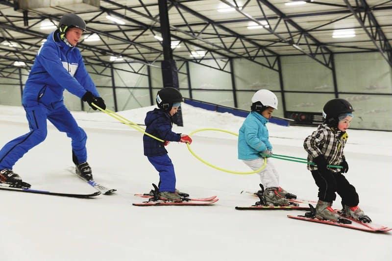 Center Park Holland zur jeder Jahreszeit kannst du hier Ski fahren