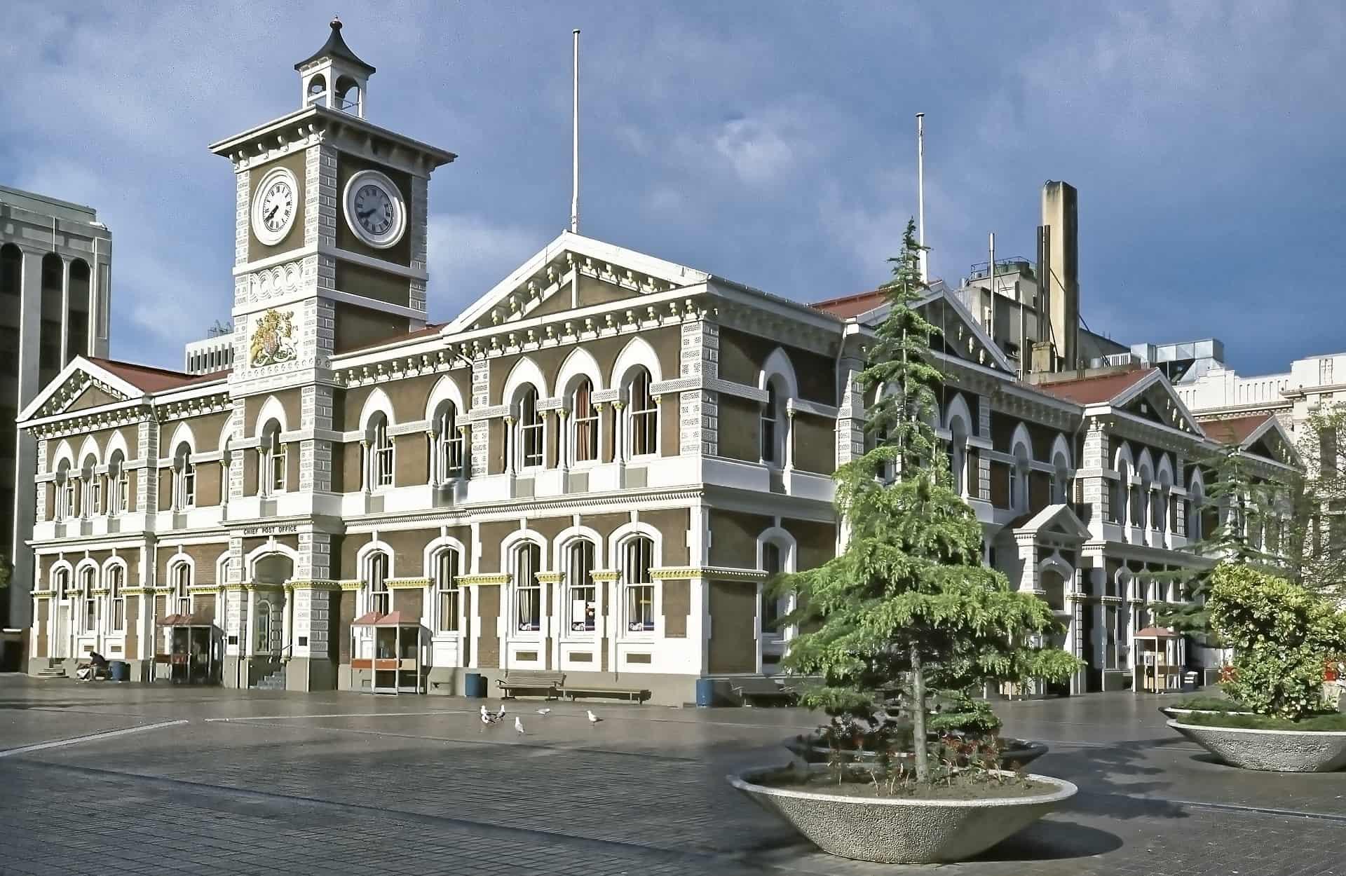 Christcurch in Neuseeland - ganz unten findest du Südsee Deals
