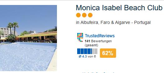 Das günstige Beispiel Hotel in Albufeira
